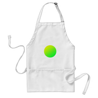 Tablier Cercle vert