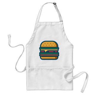 Tablier Cheeseburger de Charbroiled