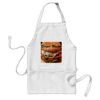 Tablier cheeseburger principal d'hamburger de fête des