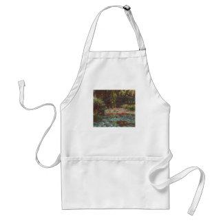 Tablier Claude Monet
