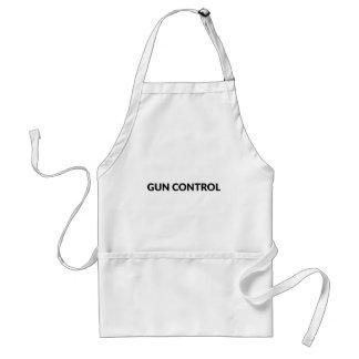 Tablier contrôle des armes