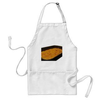 Tablier Crêpe de farine de pois chiche dans un plateau