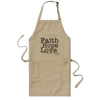Tablier d'amour d'espoir de foi