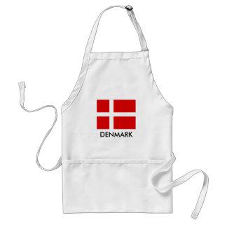 Tablier danois de cuisine de BBQ de drapeau pour