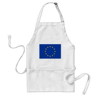Tablier de BBQ de drapeau d'Union européenne pour