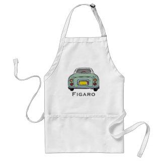 Tablier de BBQ de voiture de Nissan Figaro de vert