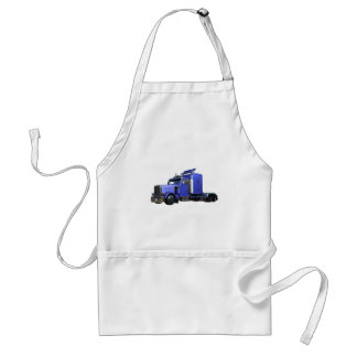 Tablier De bleu camion de remorque métallique de tracteur