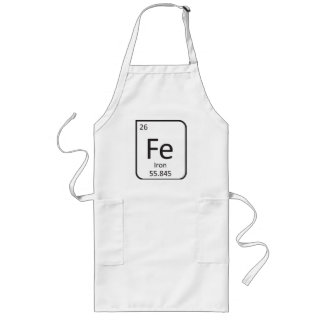 TABLIER de CHEF de FER, élément de Fe