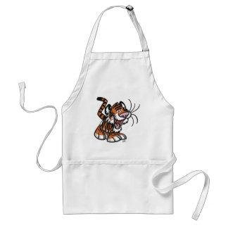 Tablier de cuisine de T-shirt de Lil'Tiger