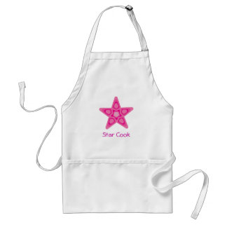 Tablier de cuisinier d'étoile
