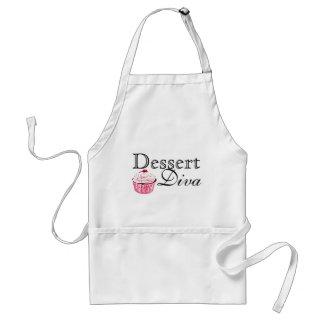Tablier de diva de dessert