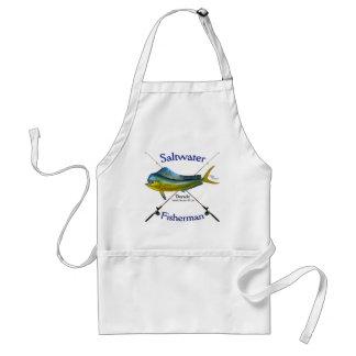 Tablier de Dorado Mahi Mahi de pêcheur d'eau de me