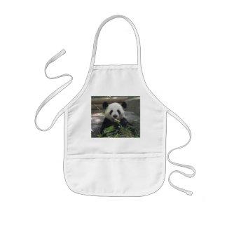 Tablier de l ours panda de l enfant
