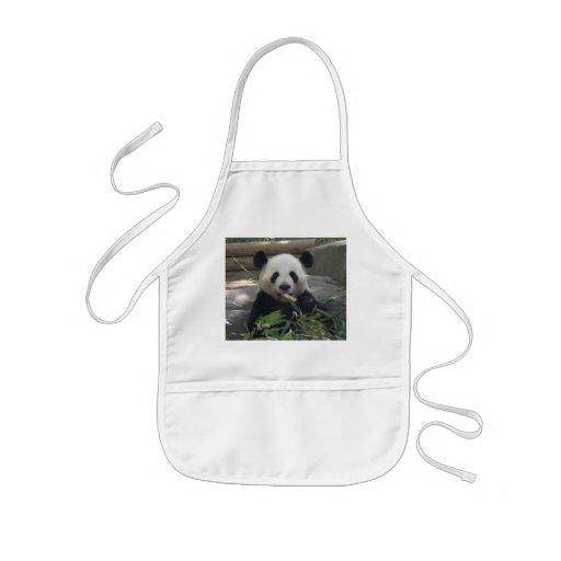 Tablier de l'ours panda de l'enfant