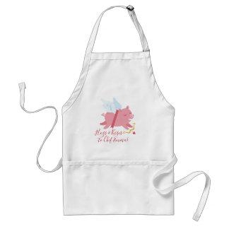 Tablier de Valentine de porc de cupidon