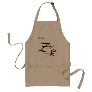 Tablier de zen - customisé