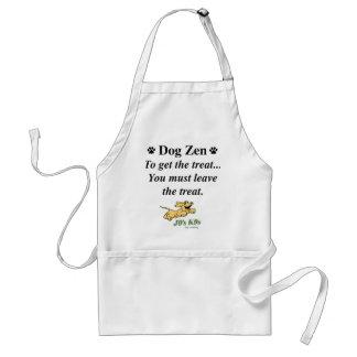 Tablier de zen de chien