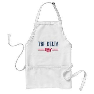 Tablier Delta | Etats-Unis de delta de delta