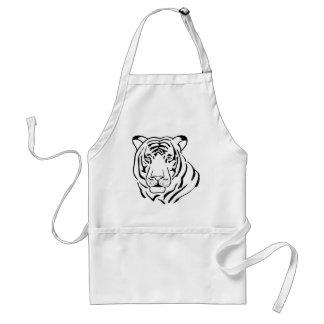 Tablier Dessin sauvage de tigre