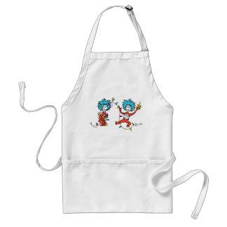 Tablier Dr. Seuss | les | danses de la chose 1 et de la