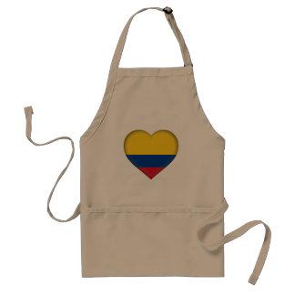 Tablier Drapeau de la Colombie