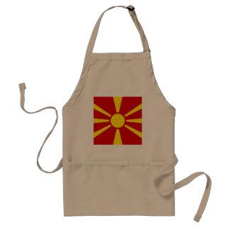 Tablier Drapeau de Macédoine