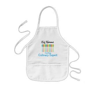 Tablier du chef de l'enfant : Expert culinaire