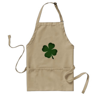 Tablier du jour de St Patrick vert clair mignon de