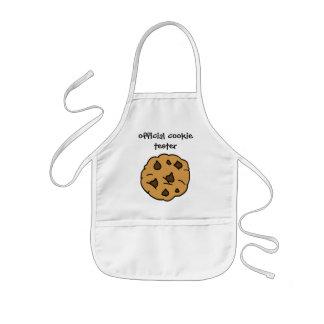 Tablier Enfant Appareil de contrôle officiel de biscuit, gâteaux