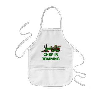Tablier Enfant Chef dans la formation