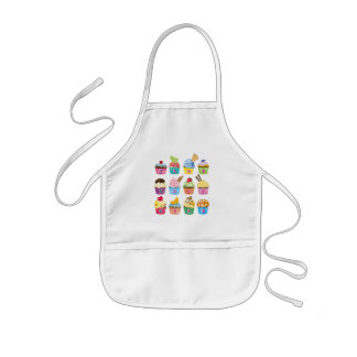 Tablier Enfant Créez vos propres festins délicieux de monogramme