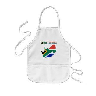 Tablier Enfant Drapeau sud-africain