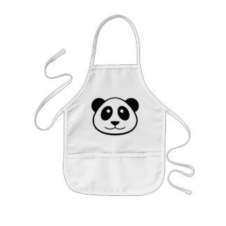 Tablier Enfant Enfants de visage de panda