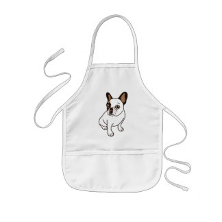 Tablier Enfant Le faon adorable Frenchie pie