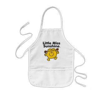 Tablier Enfant Petite petite Mlle Sunshine de la Mlle | est un