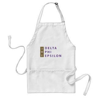 Tablier Epsilon de phi de delta empilé