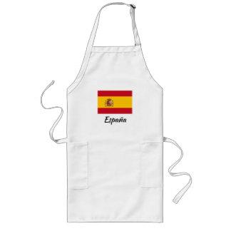 Tablier espagnol de cuisine de cuisine de drapeau