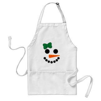 Tablier Fille de bonhomme de neige