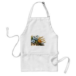 Tablier fleurs et blé