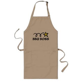 Tablier frais de barbecue pour le PATRON de BBQ
