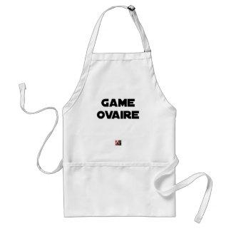 Tablier Game Ovaire - Jeux de Mots - Francois Ville
