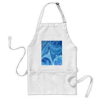 Tablier Geode bleu