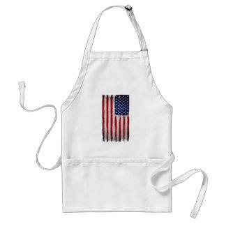 Tablier Grunge de drapeau des Etats-Unis