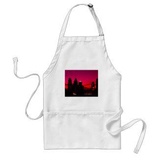 Tablier Horizon de coucher du soleil de Philadelphie