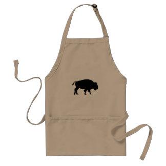 Tablier Icône de bison américain