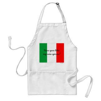 Tablier italien drôle de chef d'accent