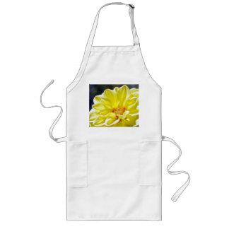 Tablier jaune de fleur