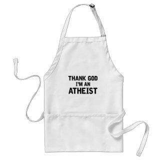 Tablier Je suis un Athiest
