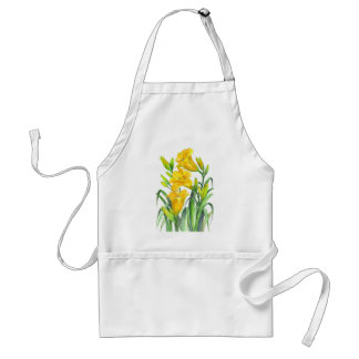 Tablier Jour jaune Lillies