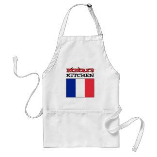 Tablier La cuisine de Pepere avec le drapeau de la France